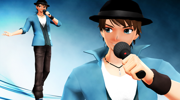 [MMD] New Bruno [Model DL] by ToshinouToto