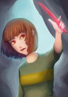 Chara Repaint! by PaintingCinema