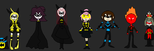 Animated Short Girls + Batman: Batman by sydneypie