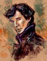Sherlock Holmes by one-more-miracle