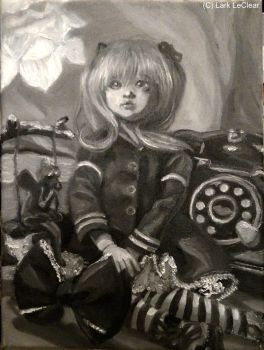 Still life with ball-jointed doll by 7AirGoddess3