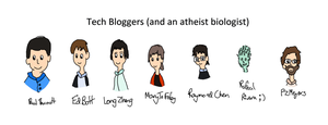 Stuff I Like (Sort Of): A Bunch of Bloggers by MarkKB