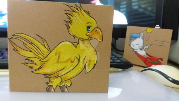 Final Fantasy Chocobo by Nayuu-chan