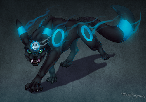 Night time Wrath -Commissioned- by Aponder
