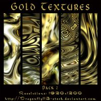 Gold Textures Pack 2 by BFstock