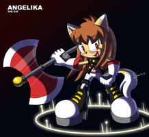 Angelika The Cat by Domestic-hedgehog