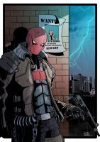 The Red Hood - COLOR by PaperMoon92