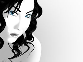 her blue eyes by st3to