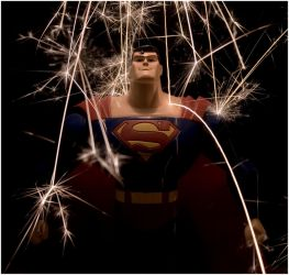 Superman Sparks by PrometheanPenguin