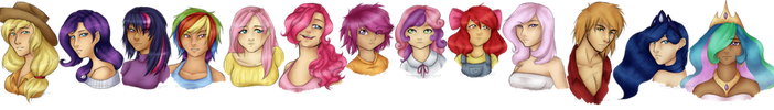 Equestria Girls by Weresquirrel94