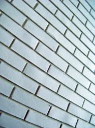 paper brick wall by synesthesea