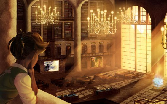 Library by Joyfool