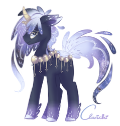 Starry Heavens [alt. Hairstyle Commish] by Clarichi