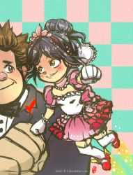 That little kid likes me _ Ralph and Vanellope by kelly1412