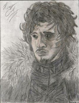 Jon Snow by Taqresu650