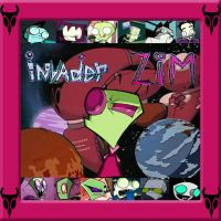 Invader Zim Picture Frame by PissedOffFangirl