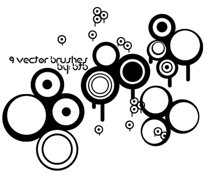 9 Vector Brushes by bobthebldr