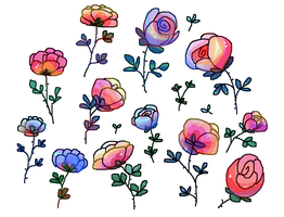 Roses by Mossworm