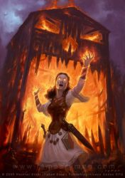 Warmage of Fire by namesjames