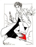 The Tenth Doctor by TessFowler