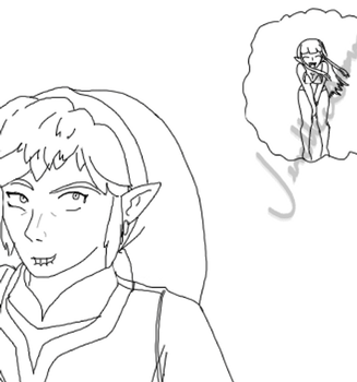 Unfinished: Stupid Sexy Ghirahim by ShrubbyNerb