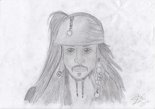 Jack Sparrow by LizzieR97