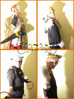 awesome trio and uk ask blog halloween by 1Kasumi