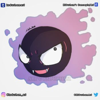 Gastly by GZ-Iconic-Ent