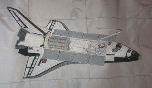 Space Shuttle Endeavour Embroidered patch by Spaceguy5