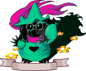 Dual? Ralsei by MaverickChatnoir