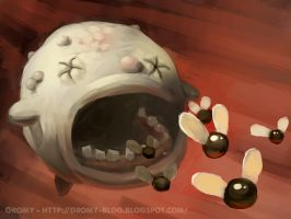Duke of Flies - the binding of Isaac by Gromy