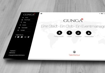 GUNGA Webdesign by FUFL187