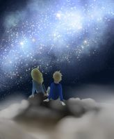 Its Always Brightest When Im With You(contest) by FallingFireX