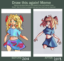 Draw This Again: August 2016 - January 2018 by Stuffy-Paul