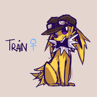 Train the Jolteon by ClefdeSoll