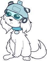 intellectual doggie by FROSKII
