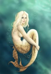 The Mermaid by CatAstropheBoxes