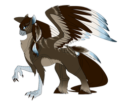 Hippogriff Adopt (Auction- CLOSED) by KASAnimation