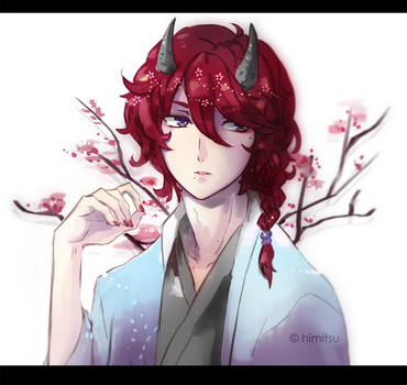 OC : Red by himitsu-nk