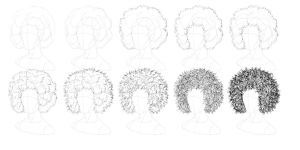 Tutorial - How to Draw Afro-Textured Hair by tashamille