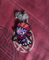 Second Place Contest Prize: Weavile Necklace by PracticallyGeeky