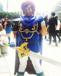 Super Smash Bros Melee Roy cosplay by Beastwithaddittude