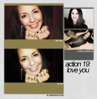Action 19: Love You by greatedition