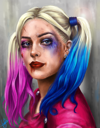 Harley Quinn by lara-cr