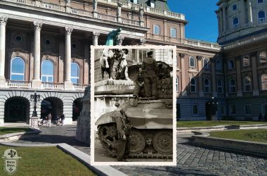 King Tigers in Buda Castle - 4. by MartynMilitary