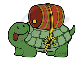 Abseudus Channel Design Turtle by Kopanitsak