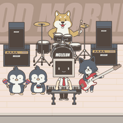 Good Morning Band by mclelun
