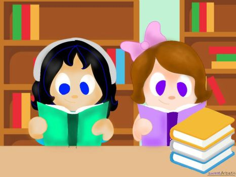 Book lovers by ZaireneArtistic