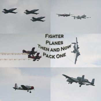 Fighter Planes Pack - 1 by Seductive-Stock