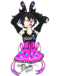 Happy Birthday Nico!!! by rockythebunny13